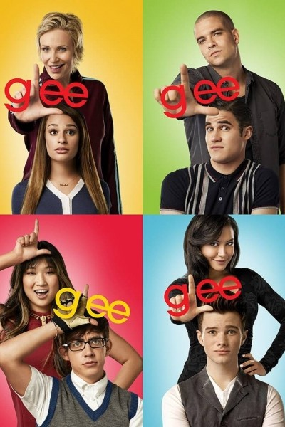 Caratula, cartel, poster o portada de Glee