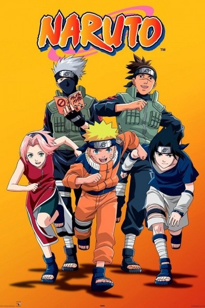 Caratula, cartel, poster o portada de Naruto