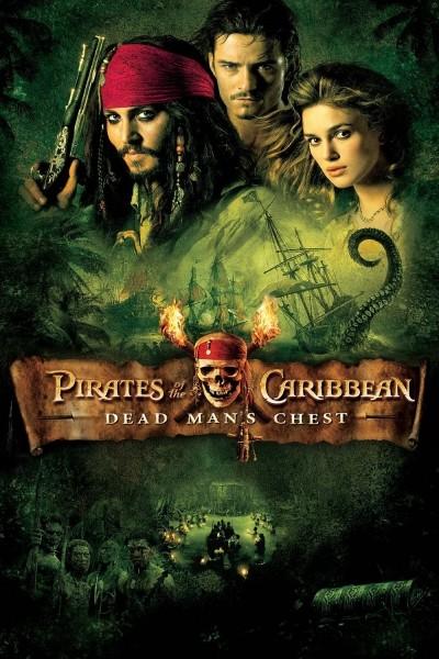 Caratula, cartel, poster o portada de Piratas del Caribe: El cofre del hombre muerto