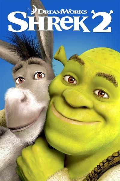 Caratula, cartel, poster o portada de Shrek 2