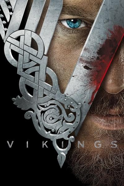 Caratula, cartel, poster o portada de Vikingos