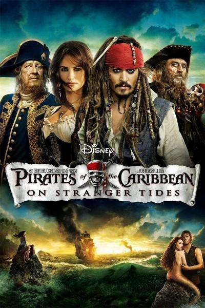 Caratula, cartel, poster o portada de Piratas del Caribe: En mareas misteriosas