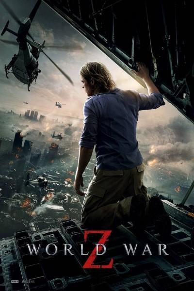 Caratula, cartel, poster o portada de Guerra Mundial Z