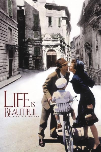 Caratula, cartel, poster o portada de La vida es bella