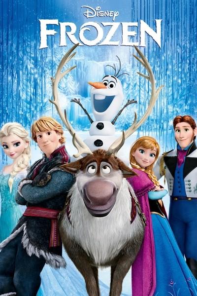 Caratula, cartel, poster o portada de Frozen. El reino del hielo
