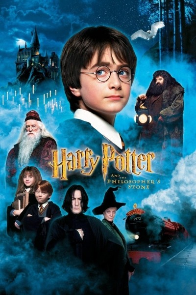 Caratula, cartel, poster o portada de Harry Potter y la piedra filosofal