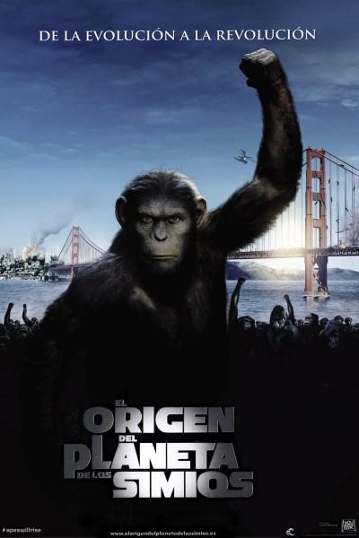 Caratula, cartel, poster o portada de El origen del planeta de los simios