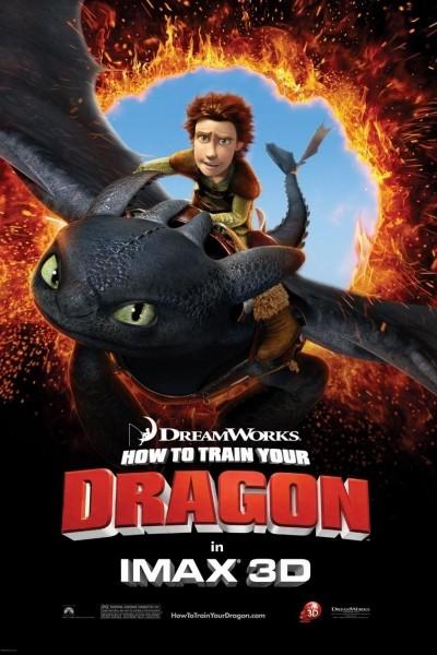 Caratula, cartel, poster o portada de Cómo entrenar a tu dragón