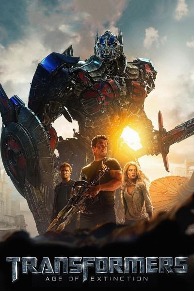 Caratula, cartel, poster o portada de Transformers: La era de la extinción