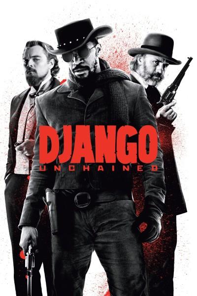 Caratula, cartel, poster o portada de Django desencadenado