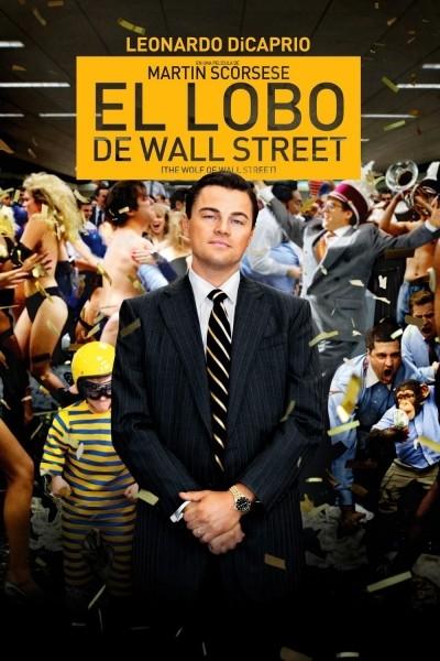 Caratula, cartel, poster o portada de El lobo de Wall Street