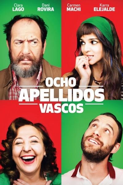 Caratula, cartel, poster o portada de Ocho apellidos vascos