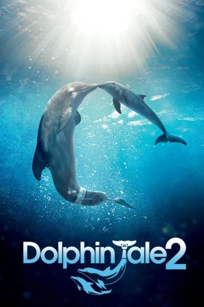 Caratula, cartel, poster o portada de La gran aventura de Winter el delfín 2