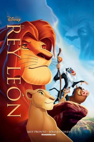 Caratula, cartel, poster o portada de El rey león
