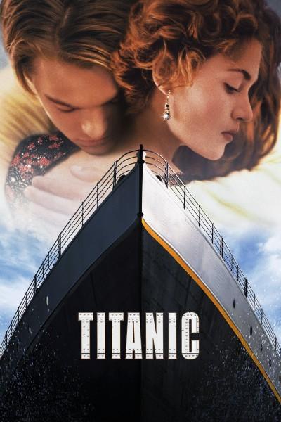 Caratula, cartel, poster o portada de Titanic