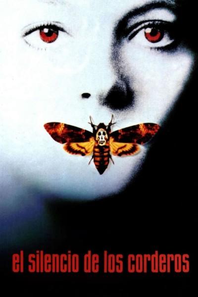 Caratula, cartel, poster o portada de El silencio de los corderos
