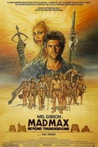 Caratula, cartel, poster o portada de Mad Max 3. Más allá de la cúpula del trueno