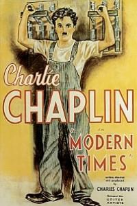 Caratula, cartel, poster o portada de Tiempos modernos