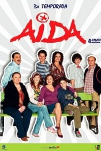 Caratula, cartel, poster o portada de Aída