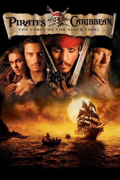 Caratula, cartel, poster o portada de Piratas del Caribe: La maldición de la Perla Negra