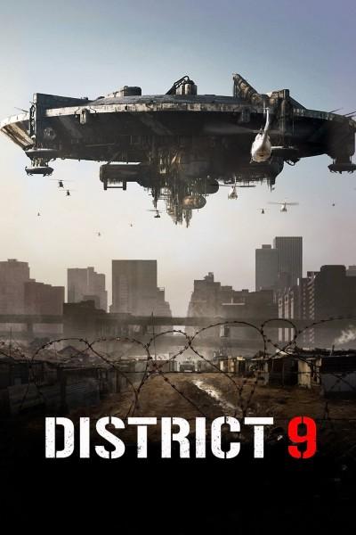 Caratula, cartel, poster o portada de Distrito 9