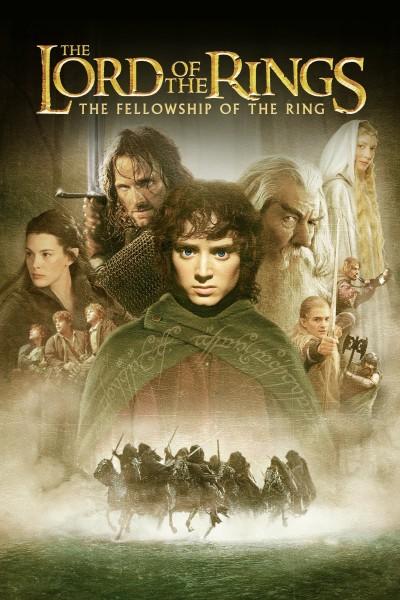 Caratula, cartel, poster o portada de El señor de los anillos: La comunidad del anillo