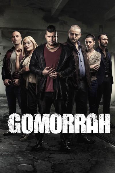 Caratula, cartel, poster o portada de Gomorra