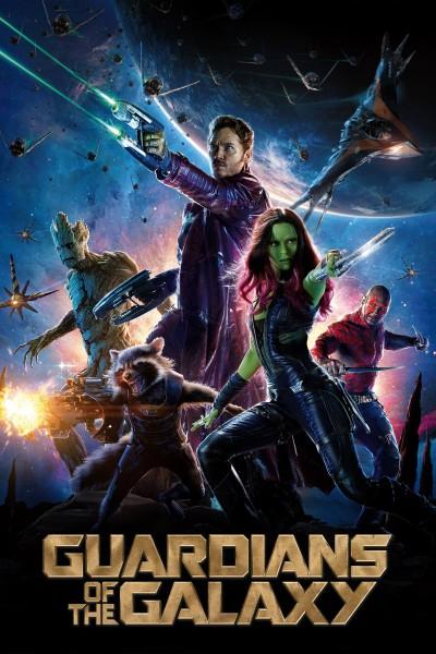 Caratula, cartel, poster o portada de Guardianes de la galaxia
