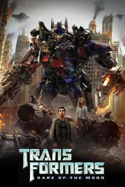 Caratula, cartel, poster o portada de Transformers: El lado oscuro de la Luna