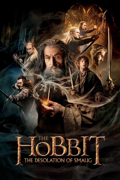 Caratula, cartel, poster o portada de El Hobbit: La desolación de Smaug