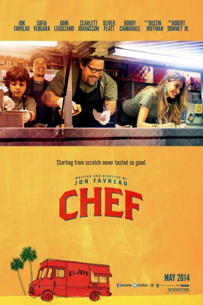 Caratula, cartel, poster o portada de Chef