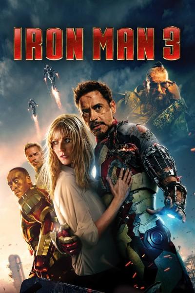 Caratula, cartel, poster o portada de Iron Man 3