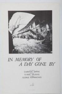 Caratula, cartel, poster o portada de En memoria de un día que pasó