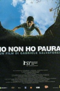 Caratula, cartel, poster o portada de No tengo miedo