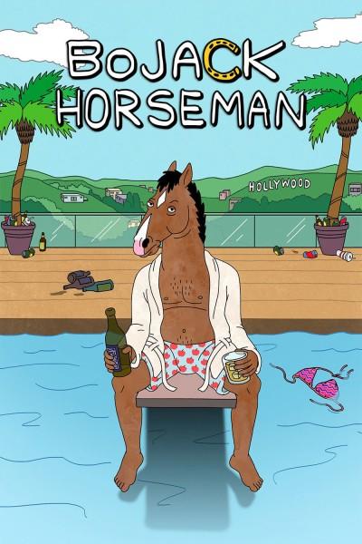 Caratula, cartel, poster o portada de BoJack Horseman