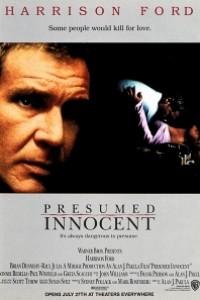 Caratula, cartel, poster o portada de Presunto inocente