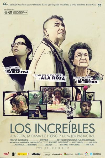 Caratula, cartel, poster o portada de Los increíbles
