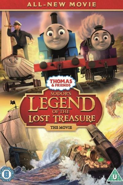 Caratula, cartel, poster o portada de Thomas & Friends: La leyenda del tesoro perdido de la isla de Sodor