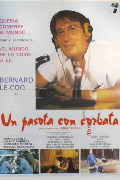 Caratula, cartel, poster o portada de Un pasota con corbata