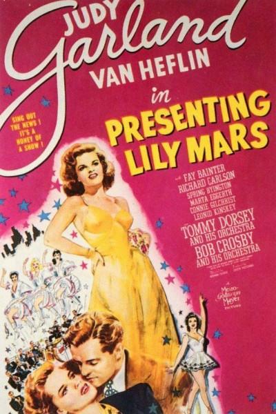 Caratula, cartel, poster o portada de Presenting Lily Mars