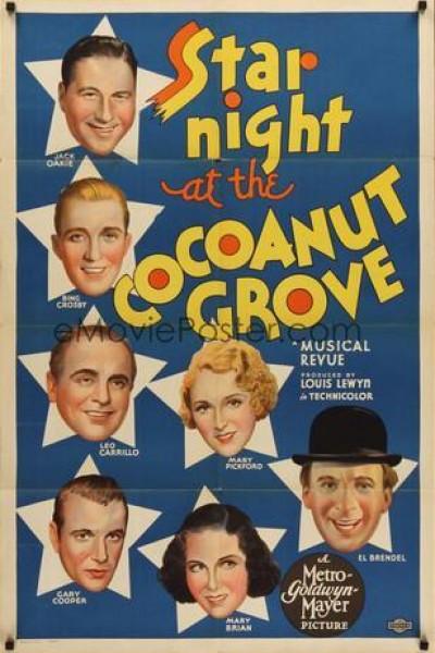 Caratula, cartel, poster o portada de Star Night at the Cocoanut Grove