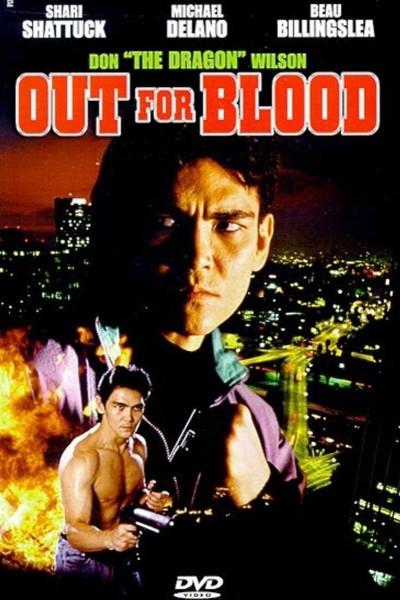 Caratula, cartel, poster o portada de Out for Blood (Karate Man)