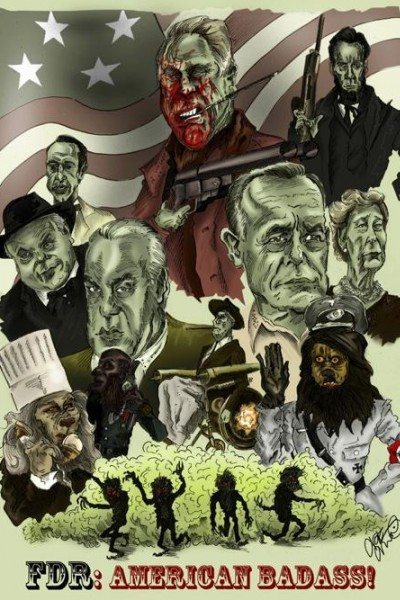 Caratula, cartel, poster o portada de FDR: American Badass!