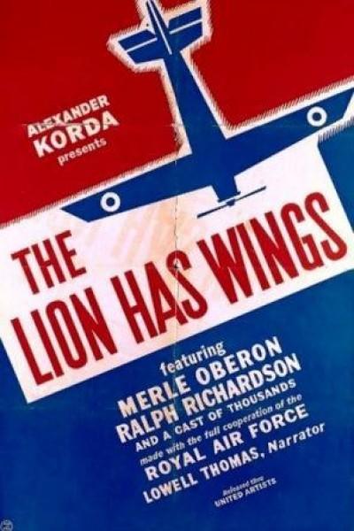 Caratula, cartel, poster o portada de El león tiene alas