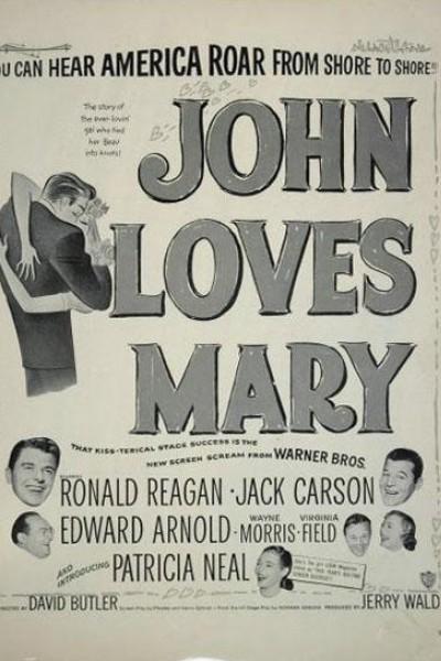 Caratula, cartel, poster o portada de John Loves Mary