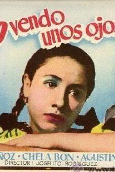 Caratula, cartel, poster o portada de Yo vendo unos ojos negros