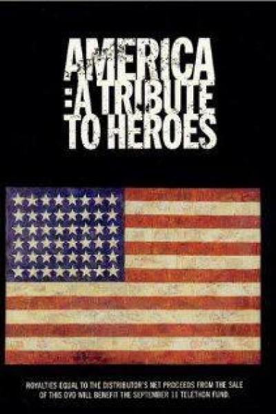 Caratula, cartel, poster o portada de America: A Tribute to Heroes
