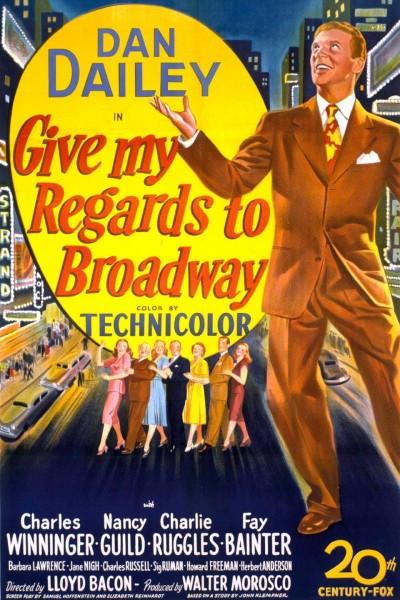 Caratula, cartel, poster o portada de Give My Regards to Broadway