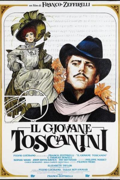 Caratula, cartel, poster o portada de El joven Toscanini