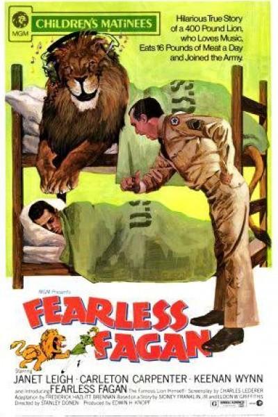 Caratula, cartel, poster o portada de Fearless Fagan